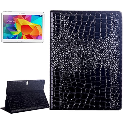 Nologo Compatible with Samsung Galaxy Tab S 10.5 / T800 Crocodile Texture Flip Leather Case with Holder Flat Shell