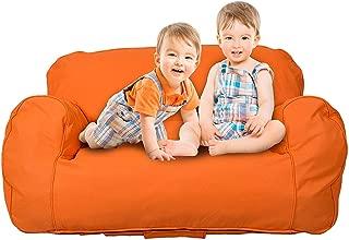 Livebest Kids Bean Bag Chair Self-rebound Sponge Double Children Lounger Sofa Bean Bags Seats for Toddlers
