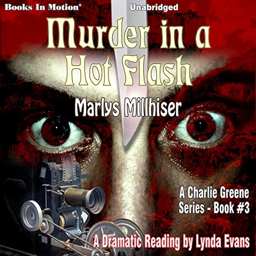 Murder in a Hot Flash audiobook cover art