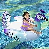 NJY Pool Float Aufblasbare Matratze für Strand Schwimmring Schwimmen Kreis Schwimmbett Float Pool...