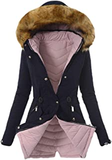 Smeiling-CA Men Stand Collar Puffer Thicken Down Jacket Winter Coat