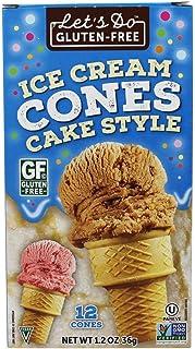 Let's Do Gluten Free Ice Cream Cones - 1.2 oz