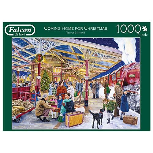11266 Falcon de Luxe Coming Home for Christmas   Puzzle de 1000 Piezas