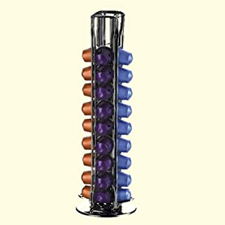 Design moderne Capsules de café pratiques Distributeur Tour Stand Fits pour 40 Capsules Storage Porte-Pod Soporte Capsulas...