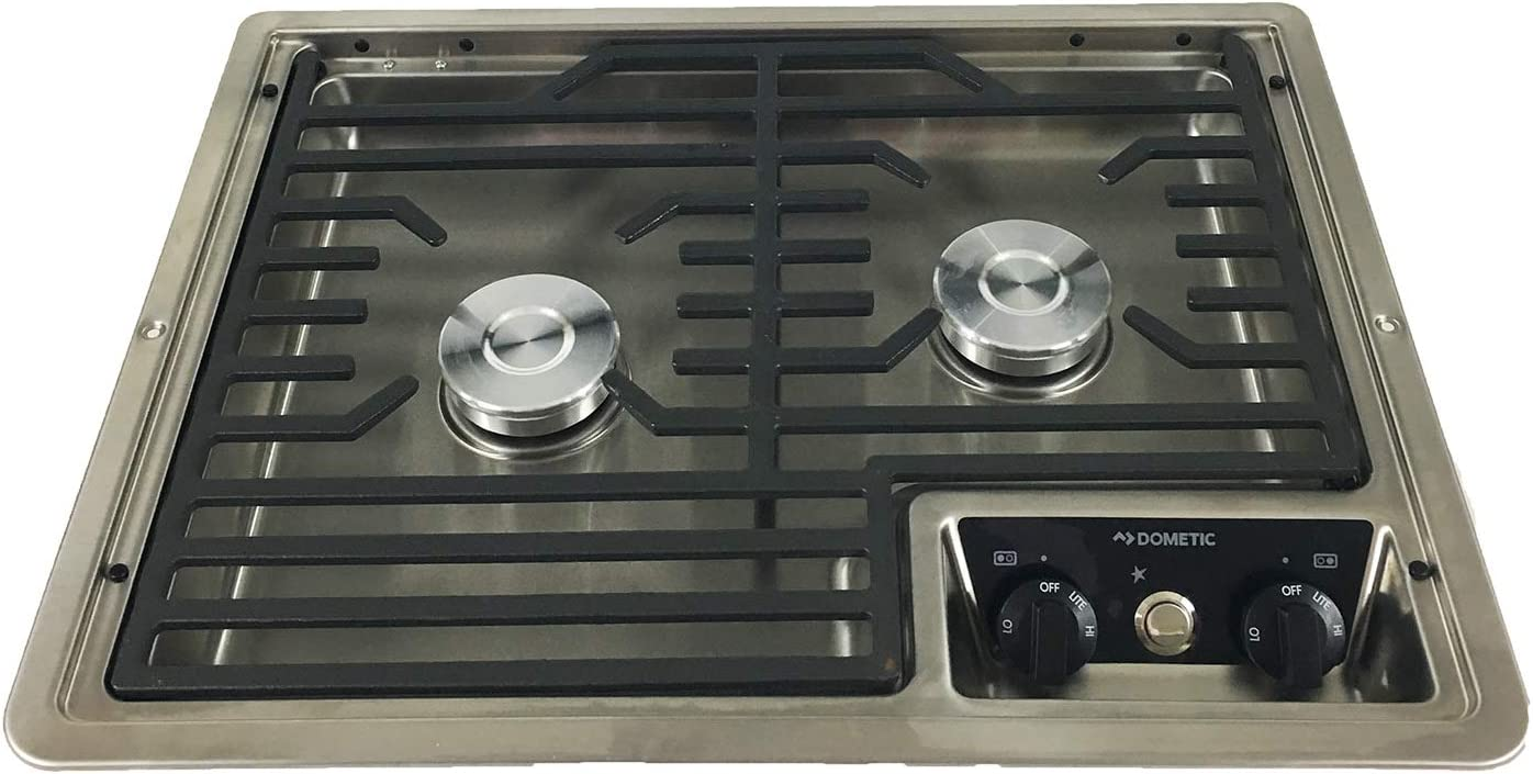 Dometic 50216 RV 2-Burner Propane Cooktop NEW before Easy-to-use selling ☆
