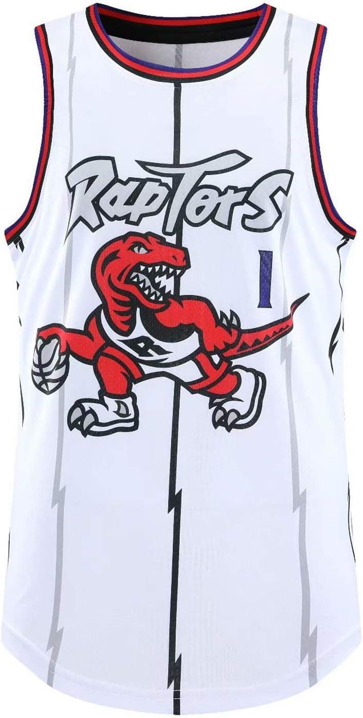R/Ápt/Árs Basketball Jersey T-Shirt Tank Top Sportswear 1# Mcgrıdy Herren Jersey Sportswear Sport Training Lose Sweatshirt Weste lila-S /ärmellose Weste