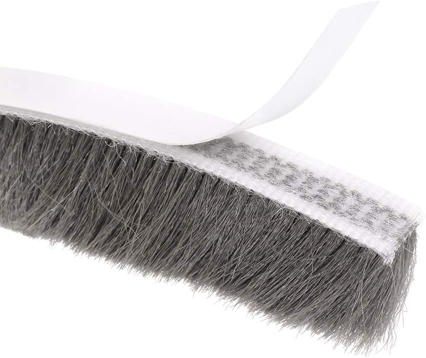 uxcell Brush Weather Stripping Adhesive Felt Door Seal Cheap mail order sales Sacramento Mall We Strip