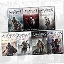 Assassins Creed Collection By Oliver Bowden 7 Books Set (Renaissance, The Secret Crusade, Revelations, Forsaken, Brotherho...