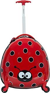 Jr. Kids' My First Luggage-Polycarbonate Hard Side Spinner, LADYBUG