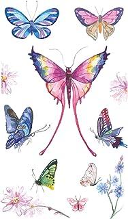 Qqinghan Butterfly Tattoo Sticker voor kinderen Verjaardagscadeau Leuke nep Taty Kids Body Art Waterdichte Tijdelijke Tatt...