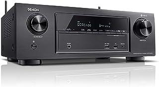 Denon AVR-X1400H - Receptor AV (80 W, 7.2 canales, Envolvente, 145 W, 0,08%, 200 mV, Negro)