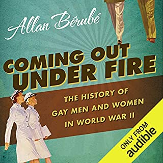 Coming Out Under Fire audiobook cover art