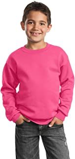 Port & Company - Youth Crewneck Sweatshirt. PC90Y
