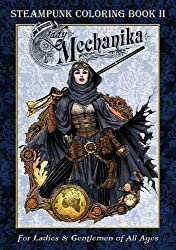 Lady Mechanica Steampunk Coloring Book Volume 2