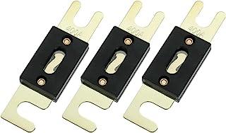 BOJACK 400 Amp 32 VDC ANL Flachsicherungen für Auto Audio  und Videosystem (Packung mit 3 Stück)