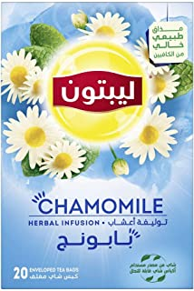 Lipton Herbal Infusion Tea Camomile, 20 Teabags
