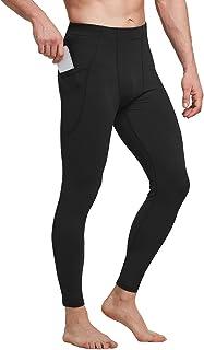 Baleaf Women's Mesh Capri Leggings High Waisted Workout Active Mesh Yoga Pants Hidden Pocket