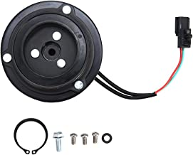 Catinbow AC Compressor Clutch Assembly 10349340 Repair Kit with Pulley Bearing, Electromagnetic Coil & Plate for JEEP Wrangler TJ 00-06 Grand Cherokee 99-04