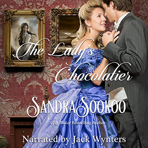 The Lady's Chocolatier: a Victorian-era romance novella audiobook cover art