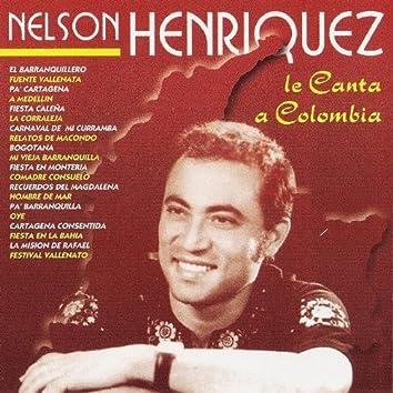 Nelson Henriquez Le Canta a Colombia