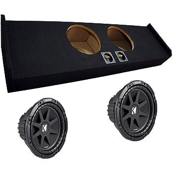 "Subwoofer Sub Box for 2010 Ford F150 Super Crew Cab Supercrew Truck Dual 10/"""