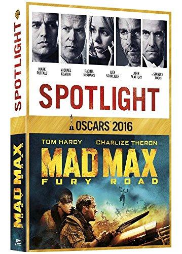 Coffret Oscars 2016: Spotlight + Mad Max Fury Road