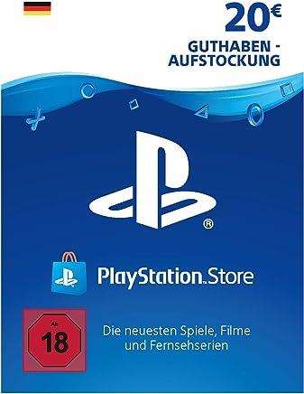 PSN Card-Aufstockung   20 EUR   deutsches Konto   PSN Download Code