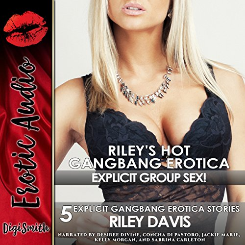Riley's Hot Gangbang Erotica cover art