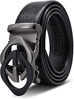 Men's Classic Luxury GG Automatic Buckle Design Imported Italian Leather Belt