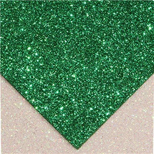 2mmx20cmx30cm spons glitters schuim papier kraftpapier goud ambachtelijk papier poeder handgemaakt papier ambachten decor DIY kaart voor decoratie, 4 stuks groen 15