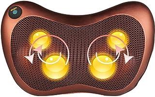 HGJDKSJ masajeador Cervical electrico y Electricidad, Almohadilla de Masaje con función de Calentamiento para Cervical, Hombro, Cintura, Alivio del Dolor Muscular, Uso en el hogar y la Oficina