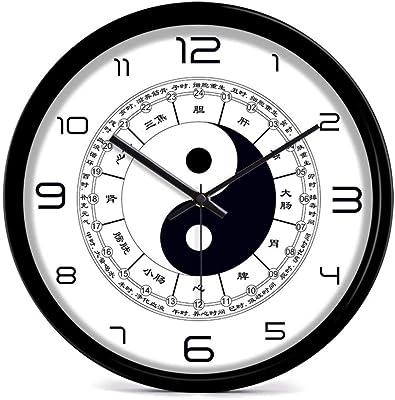 weidonng Dong Martial Arts Wall Clock, Living Room, Silent Clock, Gossip Clock