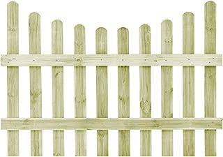 Festnight Lames de Terrasse 8 pcs 50x50 cm Bois FSC pour Jardin Patio ou Piscine Vert