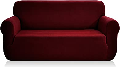 Best red fabric 3 seater sofa Reviews
