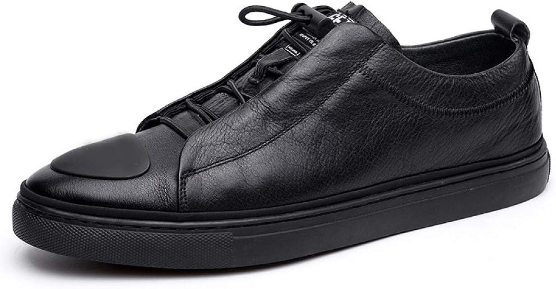 3babee99ad125e YXLONG Die Schuhe der Neuen Neuen Neuen Art und Weise des Herbstes der  Einzelnen Ledernen M auml nner Arbeiten Beil auml ufige Gezeiten-Schuhe Ab