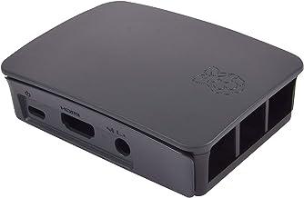 Raspberry Pi RPI3CASE-BG Official Raspberry Pi 3 Case, Black/Grey