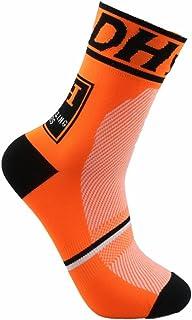 QinMMROPA 1PC Calcetines de compresi/ón de ciclista para hombre mujer adulto 3D calcetines altos calcetines futbol running deporte tenis deportivos senderismo