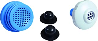 Intex 25012 Small Above Ground Pool Strainer Set Replacement Parts with Plugs