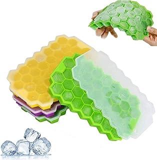 FOXTSPORT 3 unidades de moldes de silicona para cubitos de hielo ...