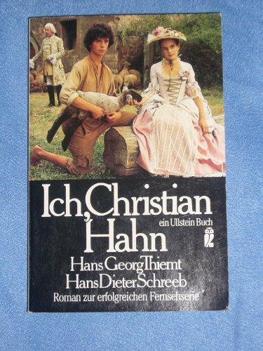 Ich, Christian Hahn.