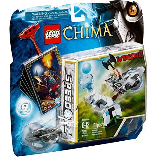 LEGO Chima Ice Tower Play Set 70106 (Speedorz/Winzar)