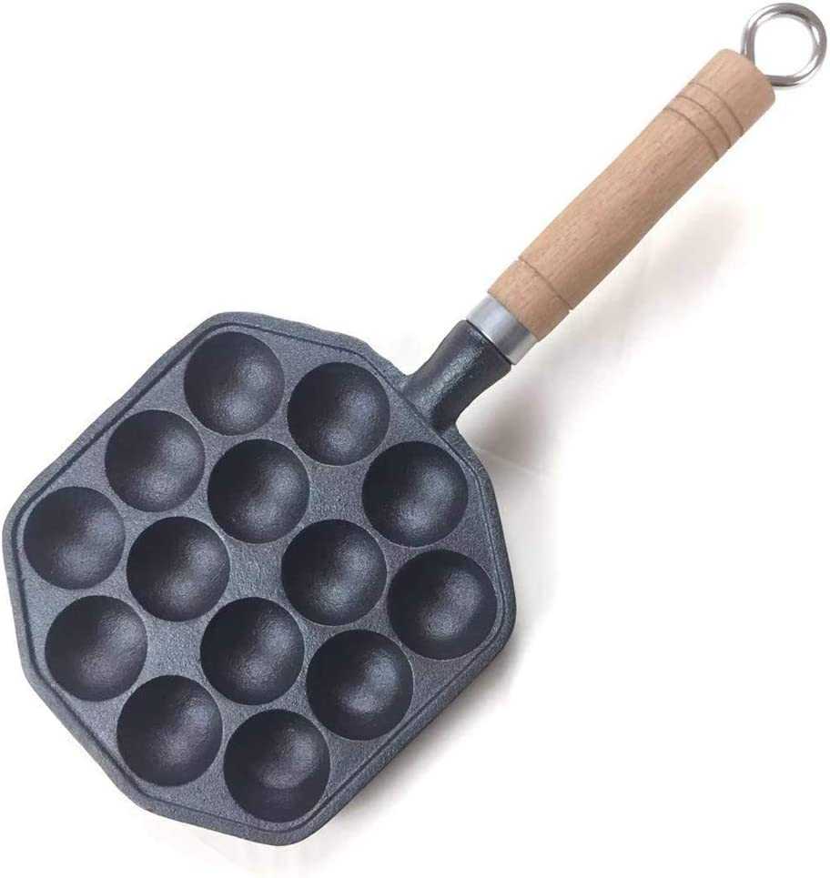 FEIYUN Takoyaki Grill Pan Non-Stick 14 No O 70% OFF Outlet Philadelphia Mall Holes Coating