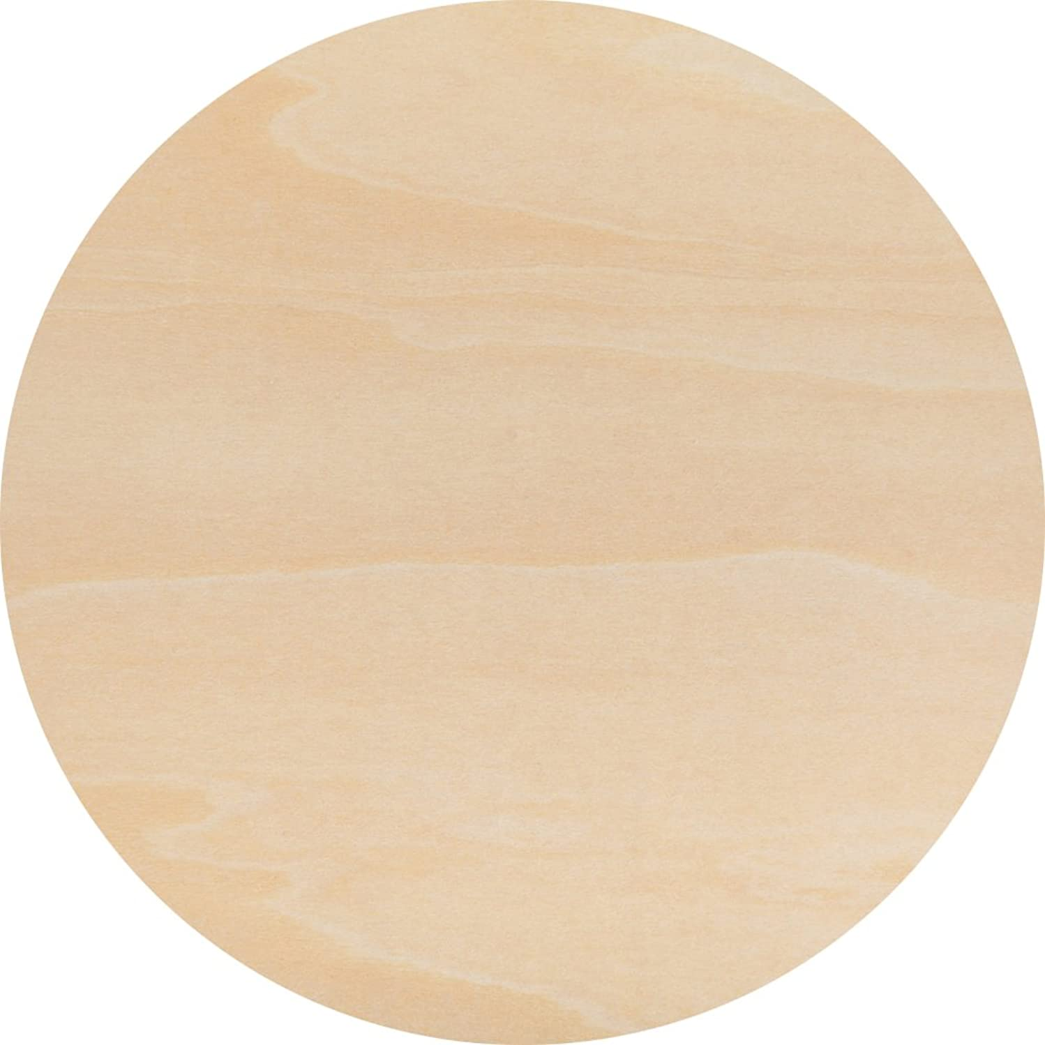 Wooden Circle Sizes Woodpeckers (18