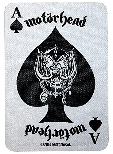Motörhead parche Ace of Spades Card Patch tejida 7x 10cm