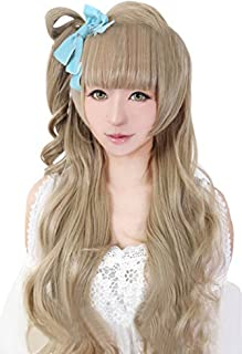 ROLECOS Kotori Minami Cosplay Wigs Anime Costume Party Wig Flaxen JF1118B