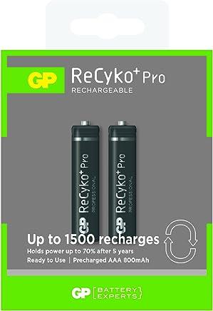 GP超霸 力再高7号充电电池GP80AAAHCB-2IL2 800毫安800mAh 2节装