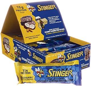HONEY STINGER Food Dark Chocolate Coconut Almond Pro Protein Bar, net wt 22.5 OZ (Box of 15)