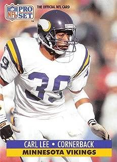 1991 Pro Set Football Card #574 Carl Lee Minnesota Vikings Official NFL Trading Card