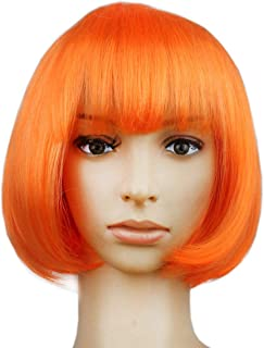 Halloween Bob Wigs,Cosplay Wigs, for Halloween Costume Dress up Party Decorations Supplies