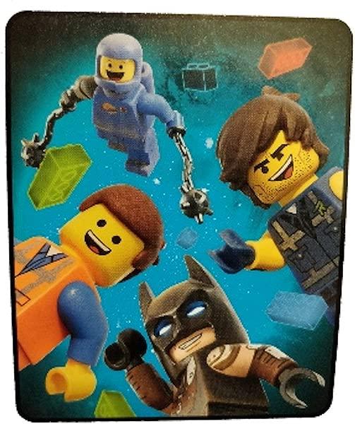 LEGO The Movie 2 Silky Soft Throw Blanket